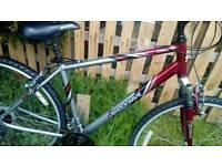 Here's a very nice shockwave hybrid bike for sale