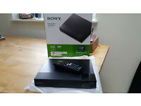 Brand New Sony DVD/Blu-Ray Player with USB and Connectivity to Netflix/YouTube