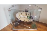 35 litre Fish Tank with pump and heater