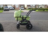 obaby zezu pram/pushchair/travel system with car seat