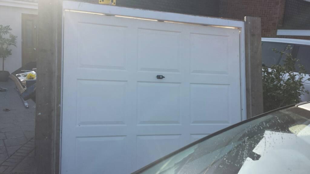 White Wickes Garage Door In Witham Essex Gumtree
