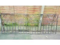 Small set wrought iron gates