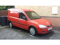 Vauxhall Corsa Combo 2004 1.3 CTDI 126K Full 12 Month MOT Low Miles Red Small Light Van