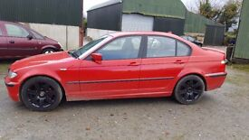 2002 BMW 318I Parts or Repair Diffing Drifting