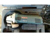 Bosch 4in angle grinder