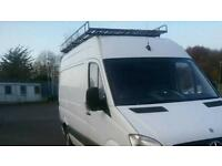Mercedes sprinter roof rack