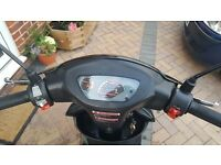 50 CC BIKES DIRECT MOPED (ONLY 6 MONTHS OLD)