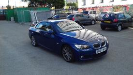 BMW 325 M-SPORT DIESEL CONVERTIBLE LOW MILAGE!!!!!!