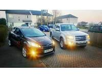 Ford ranger & fiesta sport van