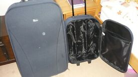 2 X TROLLEY SUITCASES