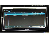 CCTV DVR - 4 Channel - 500gb - Analogue