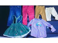 Baby girl / toddler clothing 18-24 months as pictured, all good condition and brand names