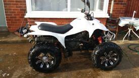 adly axr 300 road legal quad bike bargain