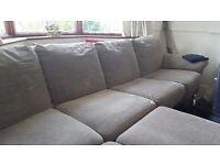 Immaculate Grey corner sofa