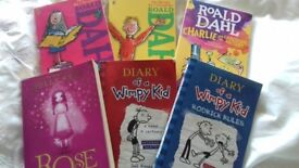 Collection of 6 childrens books