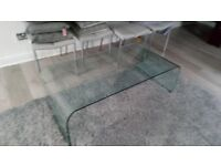 Marks and Spencer Glass coffee table