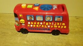 V-tech musical play time bus with phonics