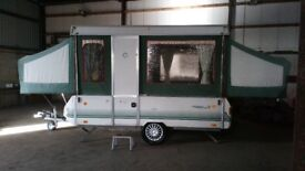 WANTED FOLDING CAMPERS / PENNINE CONWAY / FOLDING CARAVANS best cash given for quality units