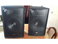 "skytec 12"" disco speakers"