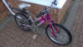 Girls Raleigh Krush bike for sale