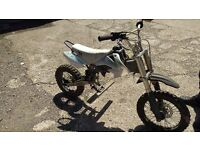 STOMP 140 ROLLING FRAME SPARES OR REPAIR