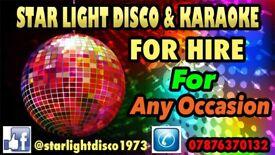 Dj Hire / Disco & Karaoke