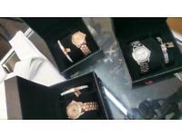 Michael kors women's watch set