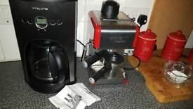 Coffee mashines new.