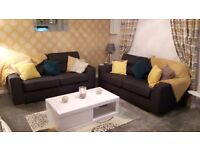 2 three seater sofas from dfs