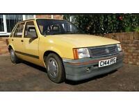 Vauxhall nova 1985