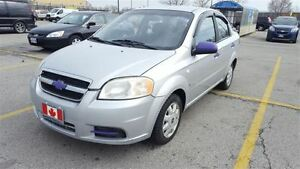 2007 Chevrolet Aveo LS | only 160km | automatic