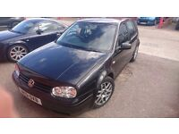 2001 Volkwagen Golf GTI 1.8 turbo Black Quick Sale