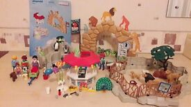 Playmobil large zoo collection excellent condition