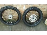 Kxf 450 2017 New wheels