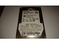 """Toshiba MK2555GSX 250GB 5.4K 2.5"""" SATA Hard Disk Drive - HDD2H24 V UL01 T"""