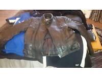 Biker jacket (leather)