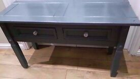 large solid wood sideboard/display table/hall table/desk/console table/side table