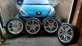 BMW MARK 3 ALLOYS (USED)