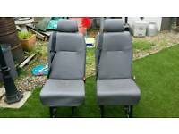 Van or camper rear seats