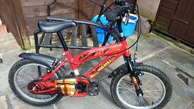 two boys bikes