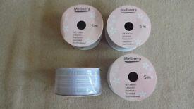Melinera gift ribbon lavender 4 used rolls