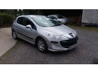 308 peugeot in very good condition ring for more info