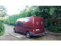 06 Transit 90 lwb crew cab/dog van/camper.