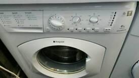 Hotpoint 6kg washing machine for sale. Free local delivery