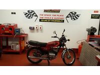 YAMAHA RXS 100 - CLASSIC CAFE RACER STYLE - PARTIAL RESTORE