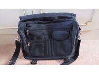 Large Double Laptop Bag & Document Case