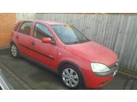 Vauxhall corsa c LOW MILAGE