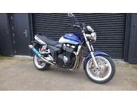 Suzuki GSX 1400 K5, low mileage, FSH, MOT, excellent condition, superb example