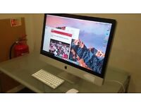 "Apple 27"" iMac 2010 i3. 1TB, 8GB RAM. Computer Final Cut, Logic Pro. Microsoft Office"