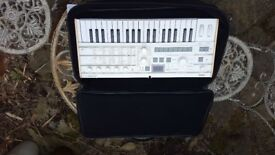 Microkorg S, brand new, never used, inc vocoder mic, charger and case